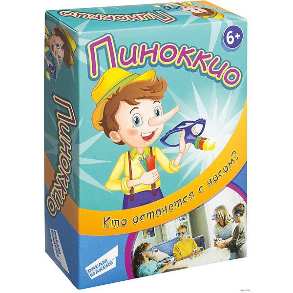 Dream Makers Настольная игра Dream Makers Пиноккио игра настольная детская dream makers board games детективчик 1 cards