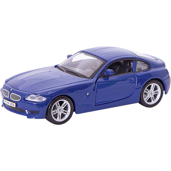 Bburago Коллекционная машинка Bburago BMW Z4 M Coupe 1:32, синяя maisto bburago 1 18 dodge viper gts coupe sports car diecast model car toy new in box free shipping 12041