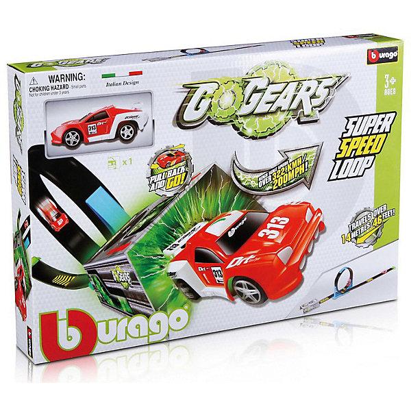 Bburago Автотрек Bburago GoGears Супер скоростная петля машинки toystate машинка toystate