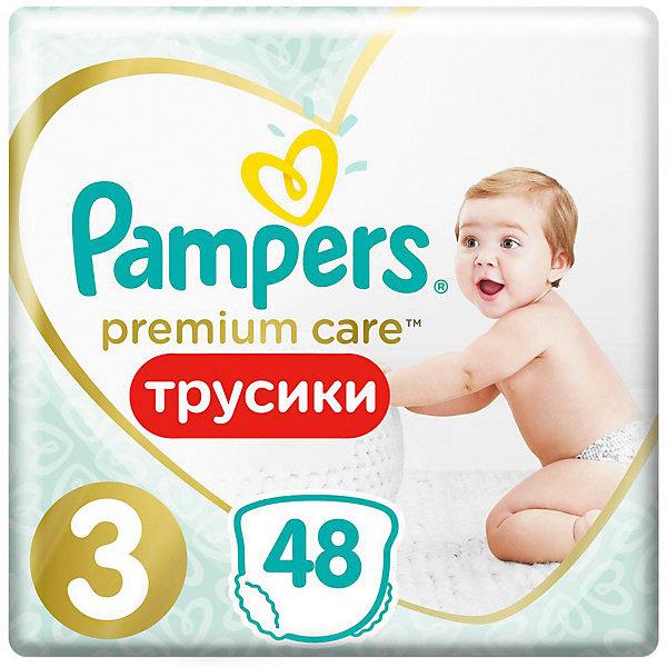 Фото Pampers Трусики Pampers Premium Care 6-11 кг, размер 3, 48 шт.