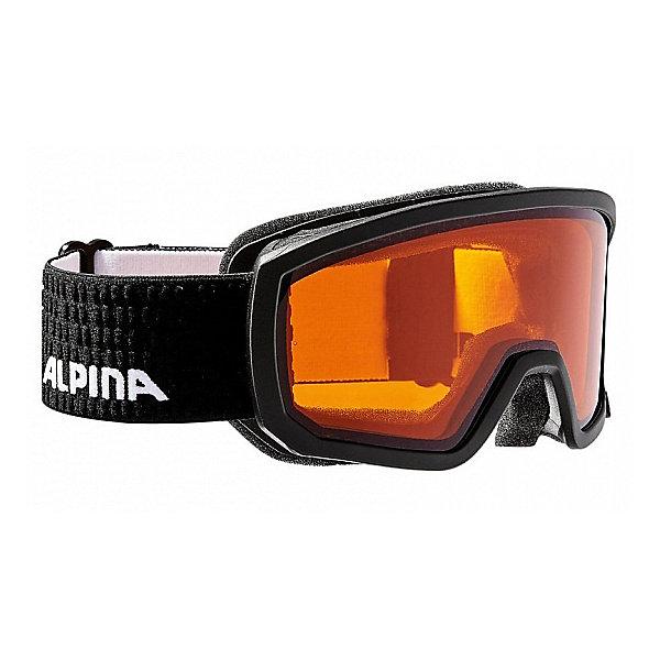 Alpina Горнолыжные очки Alpina SCARABEO JR. DH black DH zyl. S2/DH zyl. S2 очки горнолыжные alpina challenge 2 0 dh цвет белый