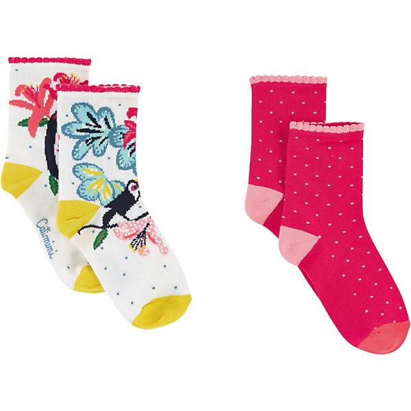Catimini Носки Catimini для девочки колготки носки гетры bossa nova носки для девочки 2 пары 1846