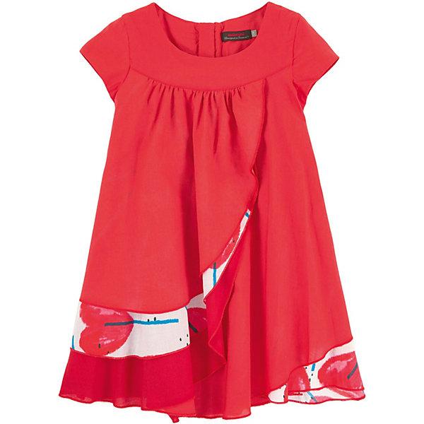 Платье Catimini для девочкиПлатья и сарафаны<br>Характеристики товара:<br><br>• цвет: красный<br>•пол: девочки<br>• состав ткани: 100% хлопок<br>• сборки на груди<br>• многослойный эффект<br>• дышащий материал<br>• свободный крой<br>• комфортная посадка<br>• короткие рукава<br>• потайная молния сзади<br>• подкладка из легкой ткани<br>• страна бренда: Франция<br><br>Французский бренд Catimini  (Кантимини) - это стильный продуманный дизайн и неизменно высокое качество исполнения.  Порадуйте ребенка обновкой от проверенного производителя!<br><br>Такая стильная модель обеспечит ребенку комфорт благодаря качественному материалу и продуманному крою. С помощью неё можно удобно одеться по погоде. Очень модная вещь! Выглядит нарядно и аккуратно.<br><br>Платье для девочки от Catimini  (Кантимини) можно купить в нашем интернет-магазине.<br>Ширина мм: 236; Глубина мм: 16; Высота мм: 184; Вес г: 177; Цвет: красный; Возраст от месяцев: 48; Возраст до месяцев: 60; Пол: Женский; Возраст: Детский; Размер: 110,128,116,140,152; SKU: 8549617;