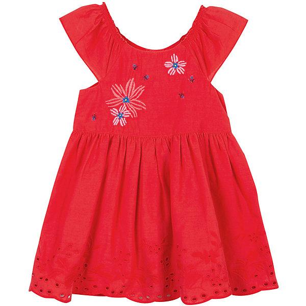 Платье Catimini для девочкиПлатья и сарафаны<br>Характеристики товара:<br><br>• цвет: красный<br>•пол: девочки<br>• состав: 100 % Хлопок <br>• вышитый узор<br>• дышащий материал<br>• свободный крой<br>• комфортная посадка<br>• круглый вырез горловины с оборками<br>• короткие рукава<br>• планка с кнопками<br>• подкладка из легкой ткани<br>• страна бренда: Франция<br><br>Французский бренд Catimini  (Кантимини) - это стильный продуманный дизайн и неизменно высокое качество исполнения.  Порадуйте ребенка обновкой от проверенного производителя!<br><br>Такая стильная модель обеспечит ребенку комфорт благодаря качественному материалу и продуманному крою. С помощью неё можно удобно одеться по погоде. Очень модная вещь! Выглядит нарядно и аккуратно.<br><br>Платье для девочки от Catimini  (Кантимини) можно купить в нашем интернет-магазине.<br>Ширина мм: 236; Глубина мм: 16; Высота мм: 184; Вес г: 177; Цвет: красный; Возраст от месяцев: 12; Возраст до месяцев: 15; Пол: Женский; Возраст: Детский; Размер: 80,98,86,104,74; SKU: 8549645;
