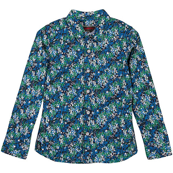 Рубашка Catimini для мальчикаБлузки и рубашки<br>Характеристики товара:<br><br>• цвет: синий/зеленый<br>• пол: мальчики<br>• состав ткани: 100% хлопок<br>• яркий принт<br>• застежка: пуговицы<br>• длинные рукава<br>• стиль и качество<br>• страна бренда: Франция<br><br>Легкая рубашка с длинным рукавом для мальчика  Catimini (Катимини) удобно сидит по фигуре. Стильная детская рубашка с ярким принтом сделана из натуральной хлопковой ткани. Отличный способ обеспечить ребенку комфорт и аккуратный внешний вид - надеть детскую рубашку от Catimini. Детская рубашка с длинным рукавом сшита из приятного на ощупь материала, который позволяет коже дышать.<br><br>Рубашку  Catimini (Катимини)  для мальчика можно купить в нашем интернет-магазине.<br>Ширина мм: 174; Глубина мм: 10; Высота мм: 169; Вес г: 157; Цвет: темно-синий; Возраст от месяцев: 48; Возраст до месяцев: 60; Пол: Мужской; Возраст: Детский; Размер: 110,128,116,152,122,140,158/164; SKU: 8549672;
