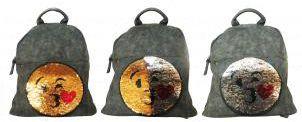 Рюкзак Centrum  Смайлы , артикул:8561212 - Школьные рюкзаки и ранцы