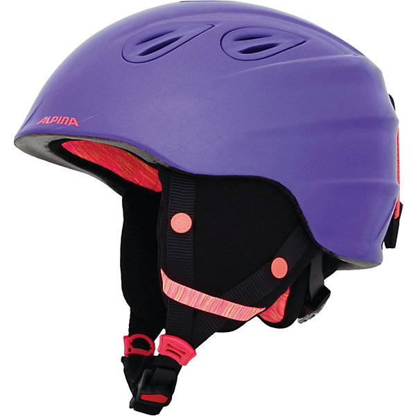 Alpina Зимний шлем GRAP 2.0 JR royal-purple matt