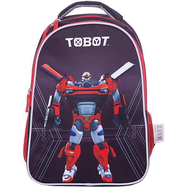 Рюкзак школьный Limpopo Superlight TobotРанцы<br>Характеристики:<br><br>• возраст: от 6 лет;<br>• цвет: черный;<br>• материал: EVA, полиэстер;<br>• вес: 400  гр;<br>• размер: 28х38х15,5 см;<br>• бренд: Mattel.<br> <br>Рюкзак облегченный Superlight с дизайном «Tobot» вместительный и в тоже время невероятно легкий и удобный ранец c изображением любимых персонажей, послужит отличным помощником в учебе для маленького школьника. Внутри ранца находятся 2 больших отделения, снаружи два боковых кармана на резинке. <br><br>Модель ранца Superlight соответствует всем необходимым для здоровья и безопасности ребенка требованиям, а именно расположенными на лямках и передней части ранца светоотражающими элементами, широкими регулируемыми лямками, а также эргономичной спинкой, повторяющей естественный изгиб позвоночника.<br><br>Рюкзак облегченный Superlight с дизайном «Tobot» можно купить в нашем интернет-магазине.<br>Ширина мм: 380; Глубина мм: 280; Высота мм: 155; Вес г: 400; Цвет: черный; Возраст от месяцев: 72; Возраст до месяцев: 108; Пол: Мужской; Возраст: Детский; SKU: 8563853;