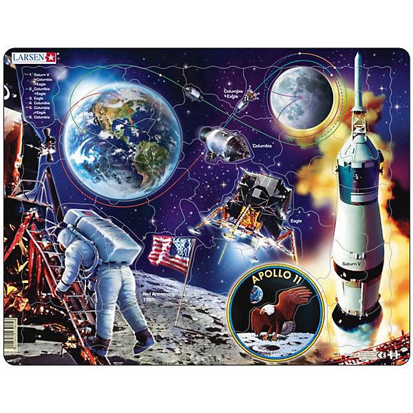 Купить Пазл Larsen Аполло 11 , 50 элементов, Норвегия, разноцветный, Унисекс