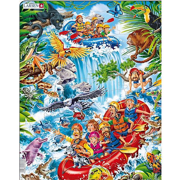 Купить Пазл Larsen В джунглях Амазонки , 35 элементов, Норвегия, Унисекс