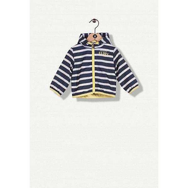 Куртка Z Generation для мальчикаВерхняя одежда<br>Характеристики товара:<br><br>• цвет: белый;<br>• состав ткани: 100% полиэстер;<br>• подкладка: 100% хлопок;<br>• утеплитель: нет;<br>• сезон: демисезон;<br>• застежка: молния;<br>• особенности модели: с капюшоном;<br>• длинные рукава;<br>• страна бренда: Франция.<br><br>Полосатая куртка для детей отличается практичной модной расцветкой и свободным силуэтом. Детская куртка сделана из легкого качественного материала, который легко стирается и долго сохраняет цвет. Эта куртка для ребенка - модная оригинальная деталь детского гардероба, помогающая удобно и стильно одеться. Детские товары от известного французского бренда Z Generation известны модным дизайном в европейском стиле и доступными ценами. <br><br>Куртку Z Generation (Зет Дженерейшен) для мальчика можно купить в нашем интернет-магазине.<br>Ширина мм: 356; Глубина мм: 10; Высота мм: 245; Вес г: 115; Цвет: белый; Возраст от месяцев: 3; Возраст до месяцев: 6; Пол: Мужской; Возраст: Детский; Размер: 68,104,86,80,74,98; SKU: 8571826;