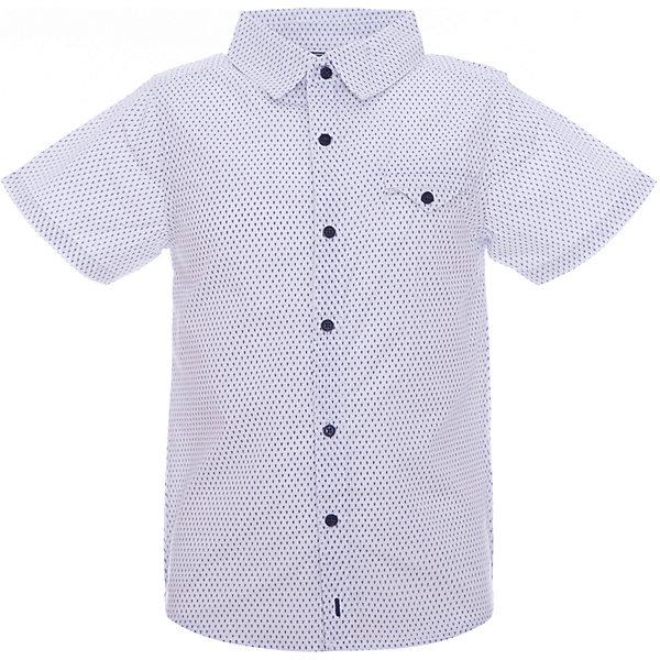 Рубашка Z Generation для мальчикаБлузки и рубашки<br>Характеристики товара:<br><br>• цвет: белый;<br>• состав ткани: 100% хлопок;<br>• сезон: лето;<br>• застежка: пуговицы;<br>• короткие рукава;<br>• страна бренда: Франция.<br><br> Детские товары от известного французского бренда Z Generation известны модным дизайном в европейском стиле и доступными ценами. Такая рубашка для ребенка - универсальная деталь детского гардероба. Эта детская рубашка с коротким рукавом сделана из натурального материала - дышащей ткани, которая отлично подходит для ношения детьми. Белая рубашка для детей отличается хорошим качеством: все её швы тщательно проработаны.<br><br>Рубашку Z Generation (Зет Дженерейшен) для мальчика можно купить в нашем интернет-магазине.<br>Ширина мм: 174; Глубина мм: 10; Высота мм: 169; Вес г: 62; Цвет: белый; Возраст от месяцев: 24; Возраст до месяцев: 36; Пол: Мужской; Возраст: Детский; Размер: 98,86,110,116,128,158,152,104,140; SKU: 8571827;