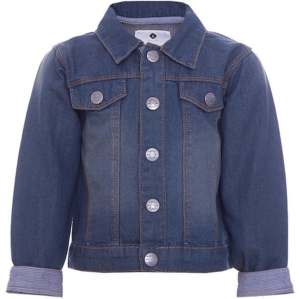 Куртка Z Generation для мальчикаВерхняя одежда<br>Характеристики товара:<br><br>• цвет: синий;<br>• состав ткани: 100% хлопок;<br>• сезон: демисезон;<br>• застежка: пуговицы;<br>• длинные рукава;<br>• страна бренда: Франция.<br><br>Джинсовая куртка для детей смотрится аккуратно и является очень модной вещью в наступающем сезоне. Такая детская куртка - отличный вариант удобной базовой вещи для детей, которая создает комфортные условия, не вызывает аллергии. Эта куртка для ребенка отличается классическим силуэтом, наличием карманов и удобных застежек. Продукция от популярного французского бренда Z Generation - это качественные и модные вещи для детей различных возрастов. <br><br>Куртку Z Generation (Зет Дженерейшен) для мальчика можно купить в нашем интернет-магазине.<br>Ширина мм: 356; Глубина мм: 10; Высота мм: 245; Вес г: 146; Цвет: синий; Возраст от месяцев: 6; Возраст до месяцев: 9; Пол: Мужской; Возраст: Детский; Размер: 74,104,98,80,68,86; SKU: 8571835;