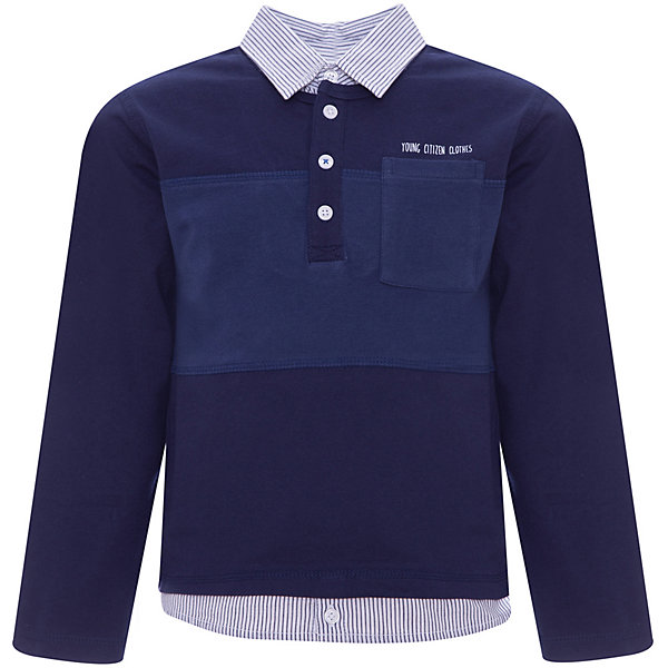 Рубашка-поло Z Generation для мальчикаБлузки и рубашки<br>Характеристики товара:<br><br>• цвет: синий;<br>• состав ткани: 100% хлопок;<br>• сезон: лето;<br>• застежка: пуговицы;<br>• длинные рукава;<br>• страна бренда: Франция.<br><br>Рубашка-поло для ребенка - стильная и универсальная деталь детского гардероба. Хлопковая детская рубашка-поло с коротким рукавом сделана из натурального материала - дышащей ткани, которая не вызывает аллергии. Такая рубашка-поло для детей отличается хорошим качеством: все её швы тщательно проработаны. Товары для детей от известного бренда Z Generation - стильные вещи, которые добавят гардероб ребенка особый европейский шик.<br><br>Рубашку-поло Z Generation (Зет Дженерейшен) для мальчика можно купить в нашем интернет-магазине.<br>Ширина мм: 199; Глубина мм: 10; Высота мм: 161; Вес г: 125; Цвет: голубой; Возраст от месяцев: 36; Возраст до месяцев: 48; Пол: Мужской; Возраст: Детский; Размер: 104,128,110,86,140,158,116,98,152; SKU: 8571848;