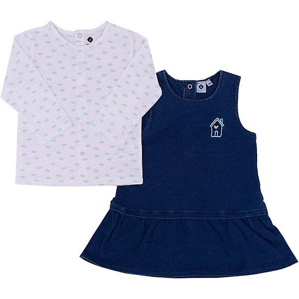 Купить со скидкой Комплект футболка и платье Z