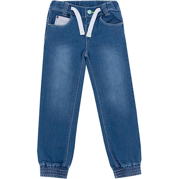 Джинсы Z Generation для мальчикаДжинсовая одежда<br>Характеристики товара:<br><br>• цвет: синий;<br>• состав ткани: 88% хлопок, 11% полиэстер, 1% эластан;<br>• сезон: демисезон;<br>• талия: резинка, шнурок;<br>• шлевки;<br>• страна бренда: Франция.<br><br>Продукция от популярного французского бренда Z Generation - это качественные и модные вещи для детей различных возрастов. Такие детские джинсы декорированы эффектом потертостей и контрастной резинкой в талии. Хлопковые детские джинсы - отличный вариант удобной базовой вещи для детей, которая создает комфортные условия, не вызывает аллергии. Эти джинсы для ребенка стильно смотрятся, они отличаются свободным силуэтом и мягкой резинкой в талии, дополнительно фиксируются шнурком. <br><br>Джинсы Z Generation (Зет Дженерейшен) для мальчика можно купить в нашем интернет-магазине.