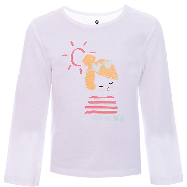 Футболка с длинным рукавом Z Generation для девочкиФутболки с длинным рукавом<br>Характеристики товара:<br><br>• цвет: белый;<br>• состав ткани: 100% хлопок;<br>• сезон: демисезон;<br>• длинные рукава;<br>• страна бренда: Франция.<br><br>Принтованная детская футболка с длинным рукавом выполнена в белом цвете, который хорошо сочетается с вещами разных расцветок. Хлопковый детский лонгслив - отличный вариант удобной базовой вещи для детей, которая создает комфортные условия, не вызывает аллергии. Этот лонгслив для ребенка стильно смотрится, он декорирован ярким принтом. Продукция от популярного французского бренда Z Generation - это качественные и модные вещи для детей различных возрастов.<br><br>Лонгслив Z Generation (Зет Дженерейшен) для девочки можно купить в нашем интернет-магазине.