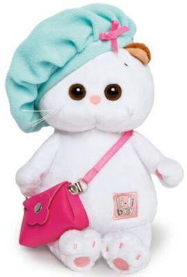 Мягкая игрушка Budi Basa Кошечка Ли-Ли Baby с сумочкой в берете, 20 см, артикул:8577918 - Мягкие игрушки