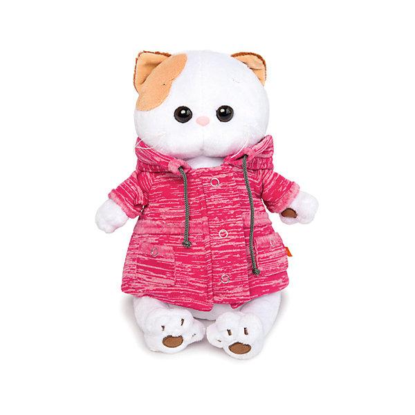 Мягкая игрушка Budi Basa Кошка Ли-Ли в розовой куртке B&amp;Co, 24 смМягкие игрушки-кошки<br>Характеристики:<br><br>• возраст: от 3 лет;<br>• материал: текстиль, плюш;<br>• высота игрушки: 24 см;<br>• вес упаковки: 440 гр.;<br>• размер упаковки: 27х16х14 см;<br>• страна бренда: Россия;<br>• подарочная упаковка.<br><br>Компания Budi Basa представляет кошечку по кличке Ли-Ли – мягкую игрушку, одетую в куртку. У игрушки маленький носик, милая мордочка и выразительные глазки. Игрушку приятно держать в руках, она выполнена из качественных безопасных материалов.<br><br>Мягкую игрушку Budi Basa «Кошка Ли-Ли в розовой куртке», B&amp;Co, 24 см можно купить в нашем интернет-магазине.<br>Ширина мм: 270; Глубина мм: 160; Высота мм: 140; Вес г: 440; Цвет: белый; Возраст от месяцев: 36; Возраст до месяцев: 168; Пол: Женский; Возраст: Детский; SKU: 8577924;