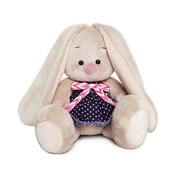 Budi Basa Мягкая игрушка Budi Basa Зайка Ми в платье в горошек, 15 см