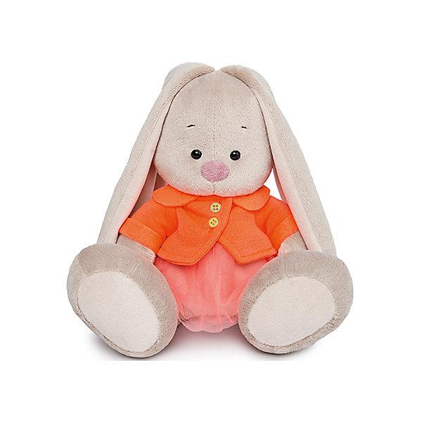 Budi Basa Мягкая игрушка Зайка Ми в оранжевой куртке и юбке, 23 см