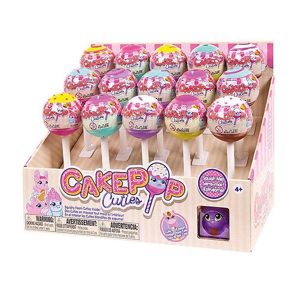 Игрушка-антистресс Basic fun Cake Pop Cuties, 1 серияСквиши<br>Характеристики:<br><br>• возраст: от 4 лет;<br>• материал: пластик;<br>• в наборе: 1 фигурка с аксессуаром, капсула, лист коллекционера;<br>• вес упаковки: 40 гр.;<br>• размер упаковки: 12х6х6 см;<br>• страна бренда: США;<br>• Внимание! В наборе может попасться любая из шести фигурок. Выбрать определенный вариант заранее невозможно.<br><br>Игрушка-антистресс от Basic fun помещена в капсулу в виде кейк попа – мини-тортика на палочке. Фигурка Cake Pop Cuties выполнена из мягкого вспененного материала, ее можно мять и сдавливать в руках, а после она быстро восстановит первоначальную форму.<br><br>Игрушку-антистресс Basic fun Cake Pop Cuties, 1 серия можно купить в нашем интернет-магазине.<br>Ширина мм: 120; Глубина мм: 60; Высота мм: 60; Вес г: 40; Цвет: разноцветный; Возраст от месяцев: 48; Возраст до месяцев: 120; Пол: Женский; Возраст: Детский; SKU: 8579334;