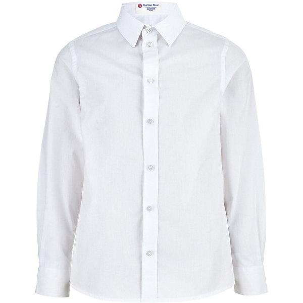 Купить Сорочка Button Blue для мальчика, Китай, белый, 170, 122, 140, 164, 146, 152, 134, 128, 158, Мужской