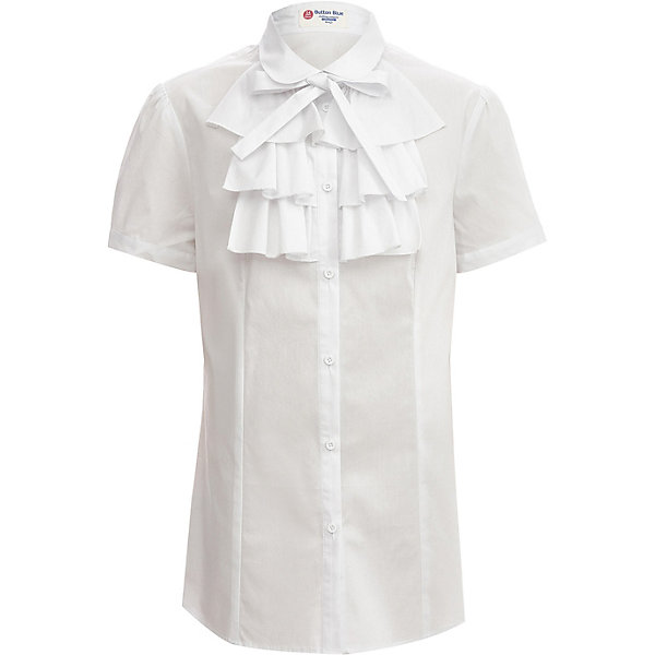 Button Blue Блуза Button Blue для девочки gucci розовая блузка с бантом