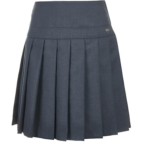 Купить Юбка Button Blue для девочки, Китай, серый, 140, 152, 146, 164, 128, 158, 122, 170, 134, Женский