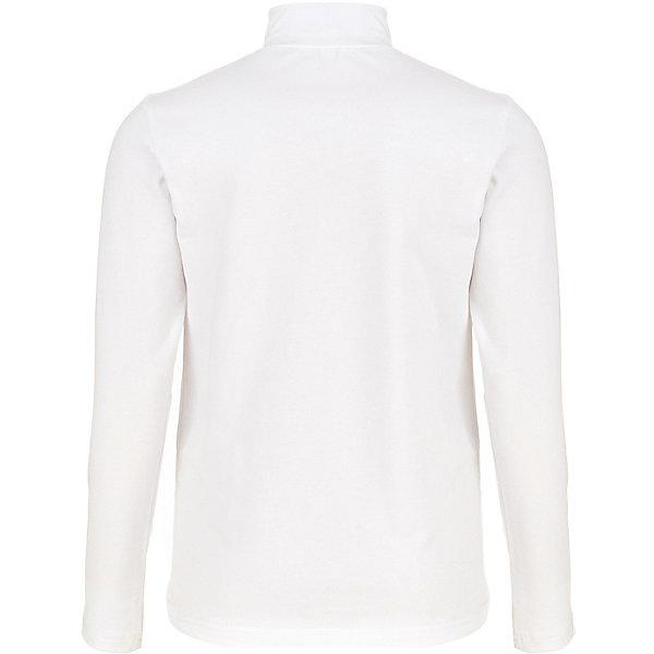 Водолазка Button Blue для девочкиВодолазки<br>Характеристики товара:<br><br>• цвет: белый;<br>• состав: 95% хлопок, 5% эластан;<br>• сезон: демисезон;<br>• без застёжки;<br>• особенности модели: школьная, повседневная;<br>• водолазка с длинным рукавом;<br>• высокий воротник;<br>• страна бренда: Россия.<br><br>Водолазка для девочки для школы - идеальный вариант для составления повседневного образа ученицы. Белая школьная водолазка сочетается с самой разной одеждой, хорошо гармонирует с любыми моделями, она комфортна и удобна. Водолазка выполнена из качественных материалов и приятна к телу.<br><br>Водолазку Button Blue (Баттон Блю) можно купить в нашем интернет-магазине.<br>Ширина мм: 230; Глубина мм: 40; Высота мм: 220; Вес г: 175; Цвет: белый; Возраст от месяцев: 108; Возраст до месяцев: 120; Пол: Женский; Возраст: Детский; Размер: 134,146,122,170,128,140,152,164,158; SKU: 8581947;