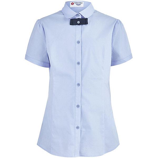 Button Blue Блуза Button Blue для девочки 12storeez блуза с бантом в горох черная