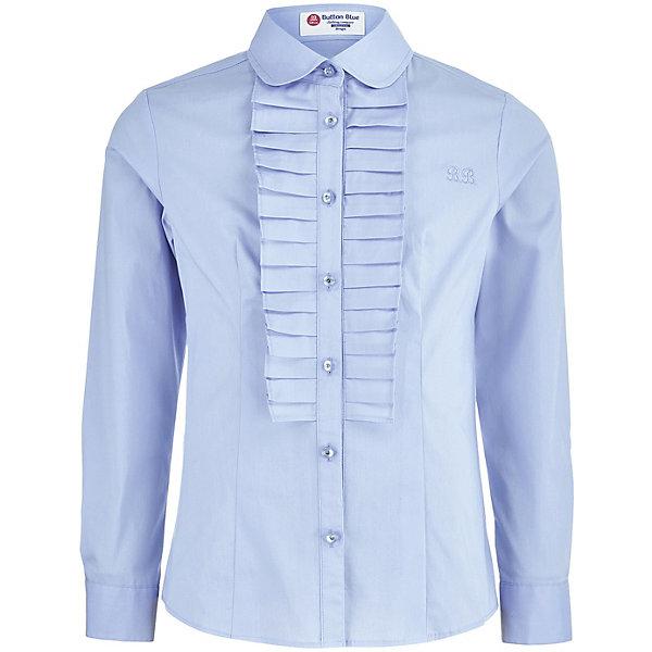 Купить со скидкой Блуза Button Blue для девочки