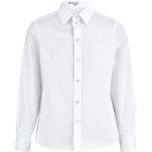 Купить Сорочка Button Blue для мальчика, Китай, белый, 158, 152, 164, 128, 122, 140, 134, 146, 170, Мужской