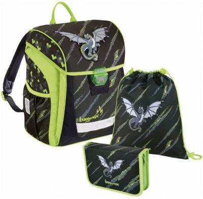 Ранец с наполнением Hama  BaggyMax Fabby  Дракон, артикул:8582318 - Школьные рюкзаки и ранцы