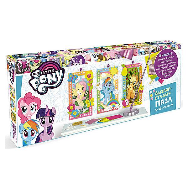 Origami Набор пазлов My little Pony Прогулка, 33 элемента набор свечей my little pony с держатетелем 6 см 24 шт