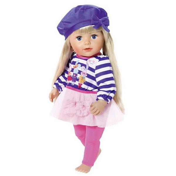 Zapf Creation Одежда для куклы BABY born В погоне за модой, голубого цвета