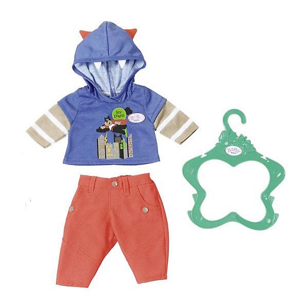 Zapf Creation Одежда для мальчика BABY born оранжево-синяя lovely striped baby girl одежда мальчик одежда брюки костюм малыш детские наряды одежда для ребенка