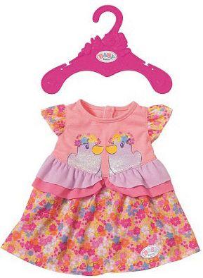 BABY born® Платье для куклы BABY born, в цветочек