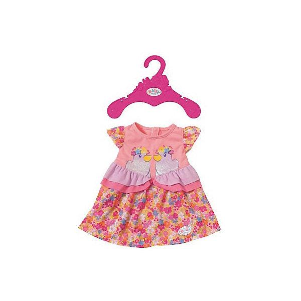 Zapf Creation Платье для куклы BABY born, в цветочек