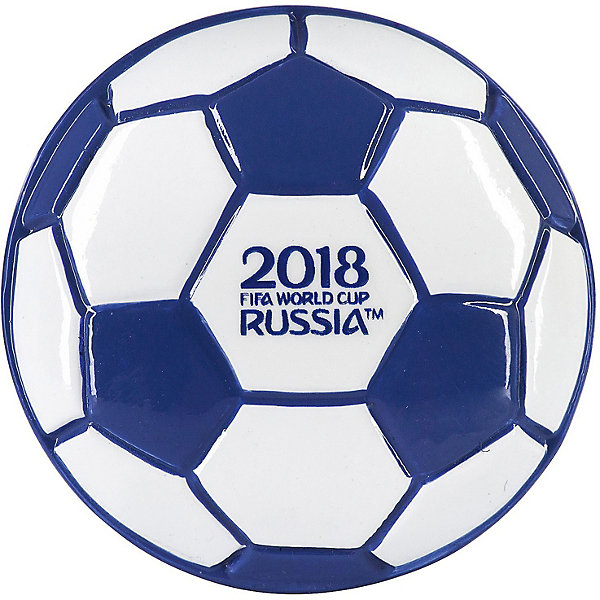 Магнит FIFA-2018 МячАксессуары для ранцев и рюкзаков<br>Характеристики товара:<br><br>• возраст: от 5 лет;<br>• материал: полистоун;<br>• размер упаковки: 13х5,5х1,2 см;<br>• вес упаковки: 38 гр.<br><br>Магнит FIFA-2018 «Мяч» — магнит, выпущенный к предстоящему Чемпионату Мира по футболу 2018. Магнит выполнен в виде футбольного мяча. Он обязательно понравится юным поклонникам самой популярной в мире игры. Магнитик можно прикрепить на любую металлическую поверхность и украсить им комнату юного болельщика. <br><br>Магнит FIFA-2018 «Мяч» можно приобрести в нашем интернет-магазине.<br>Ширина мм: 55; Глубина мм: 12; Высота мм: 130; Вес г: 38; Цвет: разноцветный; Возраст от месяцев: 60; Возраст до месяцев: 2147483647; Пол: Унисекс; Возраст: Детский; SKU: 8596906;
