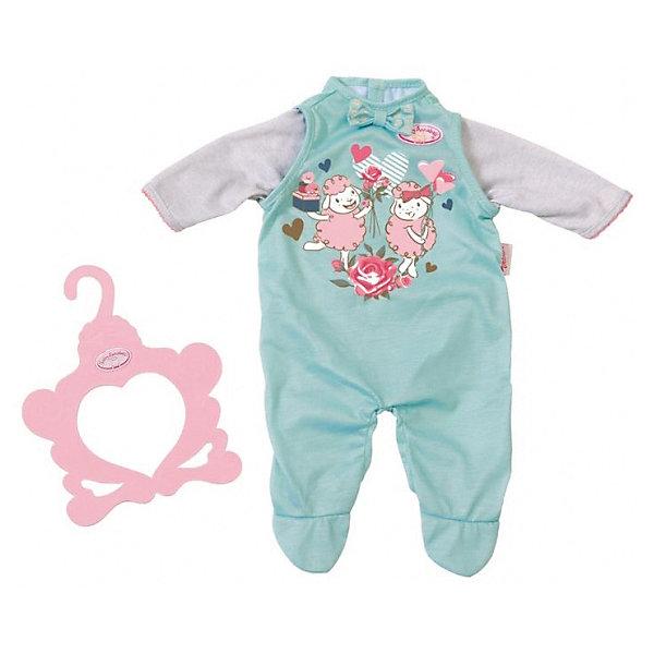 Zapf Creation Комбинезончик Baby Annabell baby annabell одежда для кукол носки 2 пары цвет мятный белый