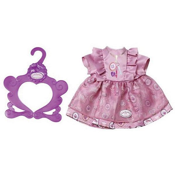 Zapf Creation Платье Baby Annabell ярко - розоое