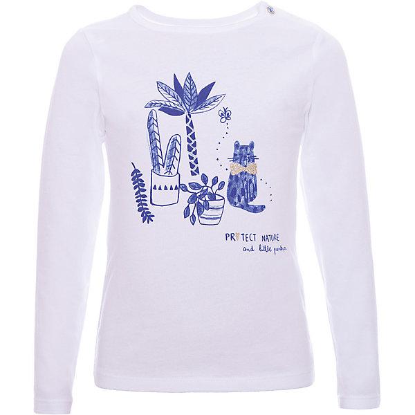 Футболка Z Generation для девочкиФутболки с длинным рукавом<br>Характеристики товара:<br><br>• цвет: белый;<br>• состав ткани: 100% хлопок;<br>• сезон: демисезон;<br>• застежка: кнопки;<br>• длинные рукава;<br>• страна бренда: Франция.<br><br>Модная детская футболка с длинным рукавом декорирована симпатичным принтом, дополнена кнопками на плече для удобства одевания. Такой лонгслив для детей от бренда Z Generation - это стильный дизайн от французских специалистов и высокое качество проработки мельчайших деталей. Лонгслив для ребенка поможет создать комфортные условия для естественной теплорегуляции тела в любую погоду - он сделан из дышащего натурального хлопка. Товары для детей от известного бренда Z Generation - стильные вещи, которые помогут ребенку приучаться одеваться со вкусом.<br><br>Лонгслив Z Generation (Зет Дженерейшен) для девочки можно купить в нашем интернет-магазине.<br>Ширина мм: 199; Глубина мм: 10; Высота мм: 161; Вес г: 56; Цвет: белый; Возраст от месяцев: 12; Возраст до месяцев: 15; Пол: Женский; Возраст: Детский; Размер: 80,104,86,74,98,58,68; SKU: 8596968;
