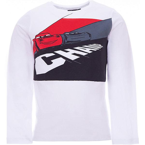 Футболка с длинным рукавом Z Generation для мальчикаФутболки с длинным рукавом<br>Характеристики товара:<br><br>• цвет: белый;<br>• состав ткани: 100% хлопок;<br>• сезон: демисезон;<br>• длинные рукава;<br>• страна бренда: Франция.<br><br>Белая детская футболка с длинным рукавом декорирована симпатичным принтом с героями мультфильма Тачки. Такой лонгслив для детей от бренда Z Generation - это стильный дизайн от французских специалистов и высокое качество проработки мельчайших деталей. Лонгслив для ребенка поможет создать комфортные условия для естественной теплорегуляции тела в любую погоду - он сделан из дышащего натурального хлопка. Товары для детей от известного бренда Z Generation - стильные вещи, которые помогут ребенку приучаться одеваться со вкусом.