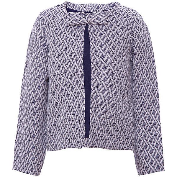 Жакет Z Generation для девочкиВерхняя одежда<br>Характеристики товара:<br><br>• цвет: синий;<br>• состав ткани: 50% хлопок, 44% полиэстер, 6% металлизированная нить;<br>• сезон: демисезон;<br>• застежка: крючок;<br>• длинные рукава;<br>• страна бренда: Франция.<br><br>Товары для детей от известного бренда Z Generation - качественные вещи, которые помогут ребенку приучаться одеваться модно и со вкусом. Элегантный кардиган для детей от бренда Z Generation отличается классическим дизайном и высоким качеством проработки мельчайших деталей. Удобный детский кардиган сделан из качественной хлопковой ткани, он поможет создать комфортные условия для естественной теплорегуляции тела в прохладную погоду. Кардиган для ребенка снабжен удобной застежкой. <br><br>Кардиган Z Generation (Зет Дженерейшен) для девочки можно купить в нашем интернет-магазине.<br>Ширина мм: 356; Глубина мм: 10; Высота мм: 245; Вес г: 185; Цвет: синий; Возраст от месяцев: 24; Возраст до месяцев: 36; Пол: Женский; Возраст: Детский; Размер: 104,158,116,152,140,128,110,86/98; SKU: 8596996;