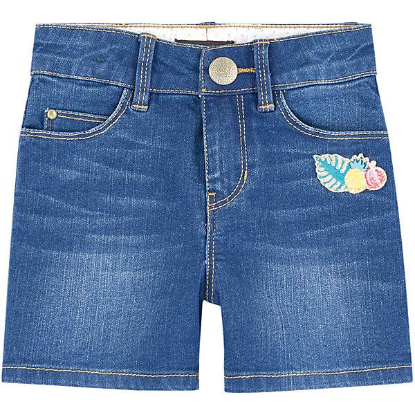 Шорты Catimini для девочкиШорты, бриджи, капри<br>Характеристики товара:<br><br>• цвет: синий деним<br>• пол: девочки<br>• состав ткани: 79 % Хлопок 19 % Полиэстер 2% Эластан<br>• сезон: лето<br>• особенности модели: джинсовый стиль<br>• пояс: на резинке, на пуговице<br>•  ширинка на молнии<br>• карманы<br>• вышитый узор<br>• страна бренда: Франция<br><br>Детские джинсовые шорты обеспечат ребенку комфорт, благодаря продуманному крою. Сделаны из натурального качественного материала и украшены красивым вышитом декором. Дополнены пятью карманами. Детские шорты комфортно сидят, не вызывают неудобств. <br><br>Бренд Catimini  (Кантимини) - это стильный продуманный дизайн и неизменно высокое качество исполнения. Парадуйте свою малышку яркими шортиками для активных летних прогулок.<br><br>Джинсовые шорты Catimini  (Кантимини) для девочки можно купить в нашем интернет-магазине.<br>Ширина мм: 191; Глубина мм: 10; Высота мм: 175; Вес г: 273; Цвет: синий; Возраст от месяцев: 36; Возраст до месяцев: 48; Пол: Женский; Возраст: Детский; Размер: 104,158/164,110,116,122,128,140,152; SKU: 8597088;