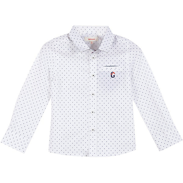 Catimini Рубашка Catimini для мальчика футболка белая catimini ут 00011611