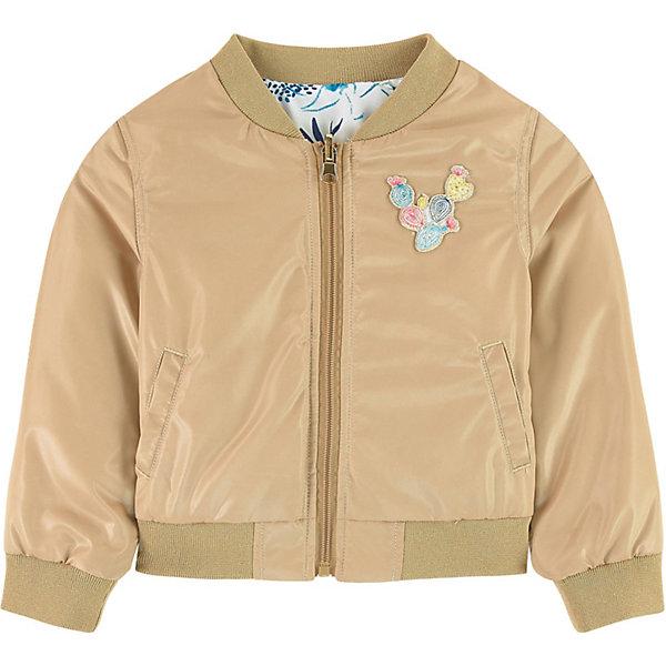 Купить Куртка Catimini для девочки, Китай, золотой, 110, 158/164, 152, 128, 122, 116, 140, Женский