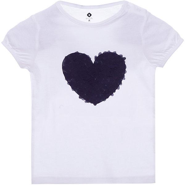 Футболка Z Generation для девочкиФутболки, поло и топы<br>Характеристики товара:<br><br>• цвет: белый;<br>• состав ткани: 100% хлопок;<br>• сезон: лето;<br>• застежка: кнопки;<br>• короткие рукава;<br>• страна бренда: Франция.<br><br>Такая стильная футболка для детей от бренда Z Generation - это оригинальный дизайн от французских специалистов и высокое качество проработки мельчайших деталей. Удобная футболка для ребенка поможет создать комфортные условия для естественной теплорегуляции тела в любую погоду - она сделана из дышащего натурального хлопка. Детская футболка декорирована модным объемным принтом. Товары для детей от известного бренда Z Generation - стильные вещи, которые добавят гардероб ребенка особый европейский шик.<br><br>Футболку Z Generation (Зет Дженерейшен) для девочки можно купить в нашем интернет-магазине.<br>Ширина мм: 199; Глубина мм: 10; Высота мм: 161; Вес г: 36; Цвет: белый; Возраст от месяцев: 0; Возраст до месяцев: 3; Пол: Женский; Возраст: Детский; Размер: 58,80,68,98,86,74,104; SKU: 8597215;