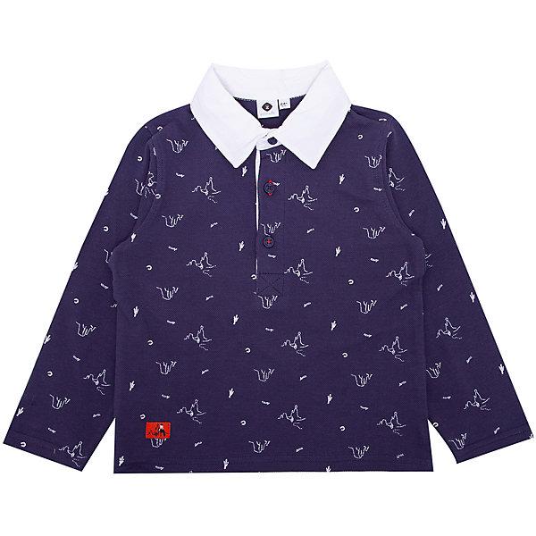 Поло ZКофточки и распашонки<br>Характеристики товара:<br><br>• состав ткани: 100% хлопок;<br>• сезон: лето;<br>• застежка: пуговицы;<br>• длинные рукава;<br>• страна бренда: Франция.<br><br>Детские товары от известного французского бренда Z Generation известны модным дизайном в европейском стиле и доступными ценами. Рубашка-поло для ребенка - универсальная деталь детского гардероба. Хлопковая детская рубашка-поло с длинным рукавом сделана из натурального хлопка - дышащей ткани, которая отлично подходит для ношения детьми. Такая рубашка-поло для детей отличается хорошим качеством: все её швы тщательно проработаны.